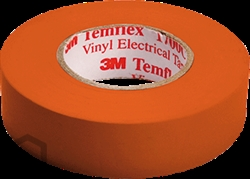 3M Temflex 1500 isoleringstape - 19 mm x 20 m - orange