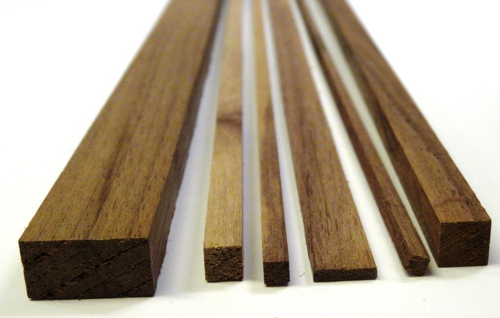 Groovy Valnød trælister - 100 cm VD09