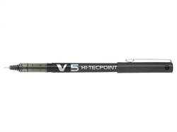 Pilot v5 Hi-Techpoint - 0.5 mm - Black
