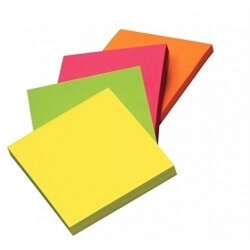 Stick'n Notes 100 ark - 76x76 mm